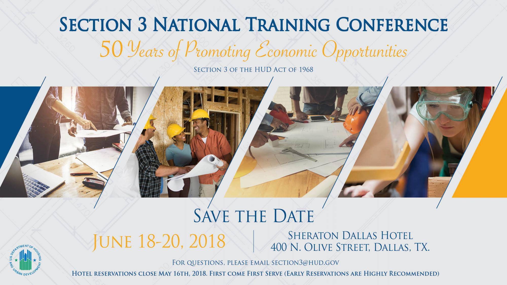 Section 3 National Training Conference 50 Years Of Economic Opportunity