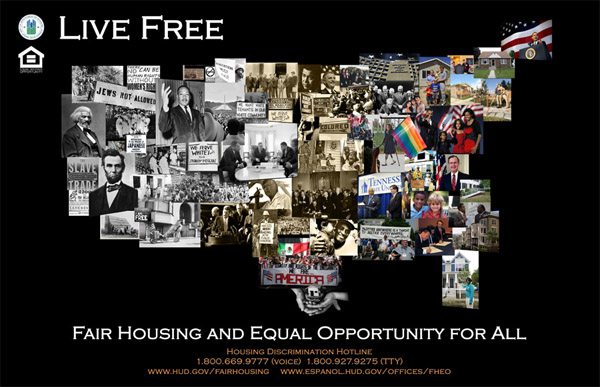 2010 Fair Housing Month Poster