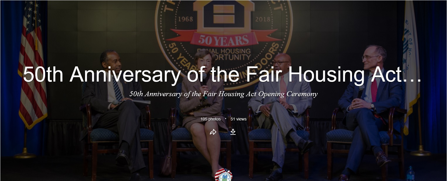 50th Anniversary of the Fair Housing Act Opening Ceremony