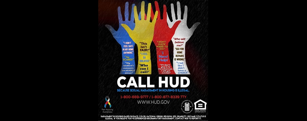 HUD launches a new resource landing page on the prevention of sexual harassment in housing.  .