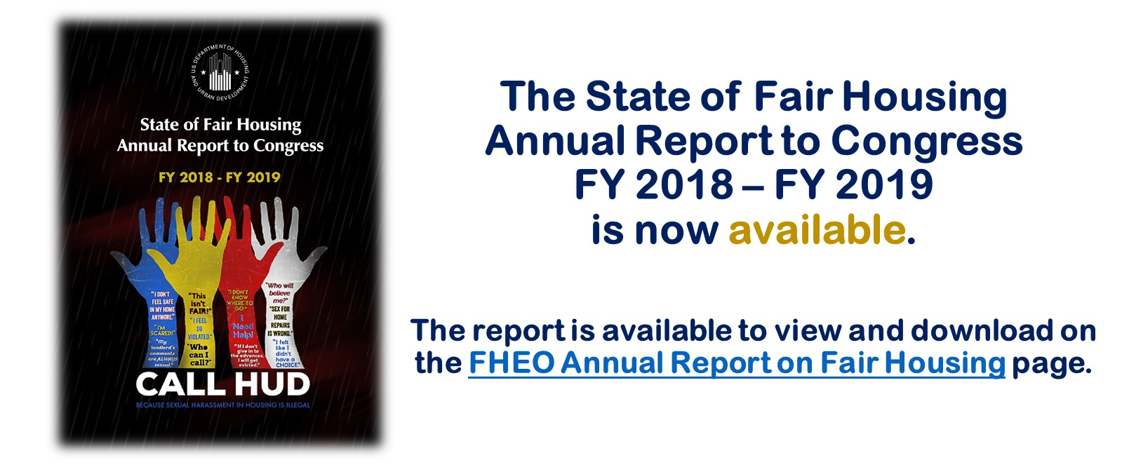 [Annual Report 2018-2019]. HUD Photo