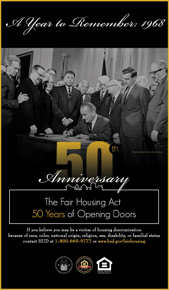 Fair Housing 50th Poster