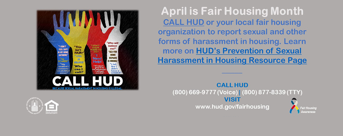 [April is Fair Housing Month].