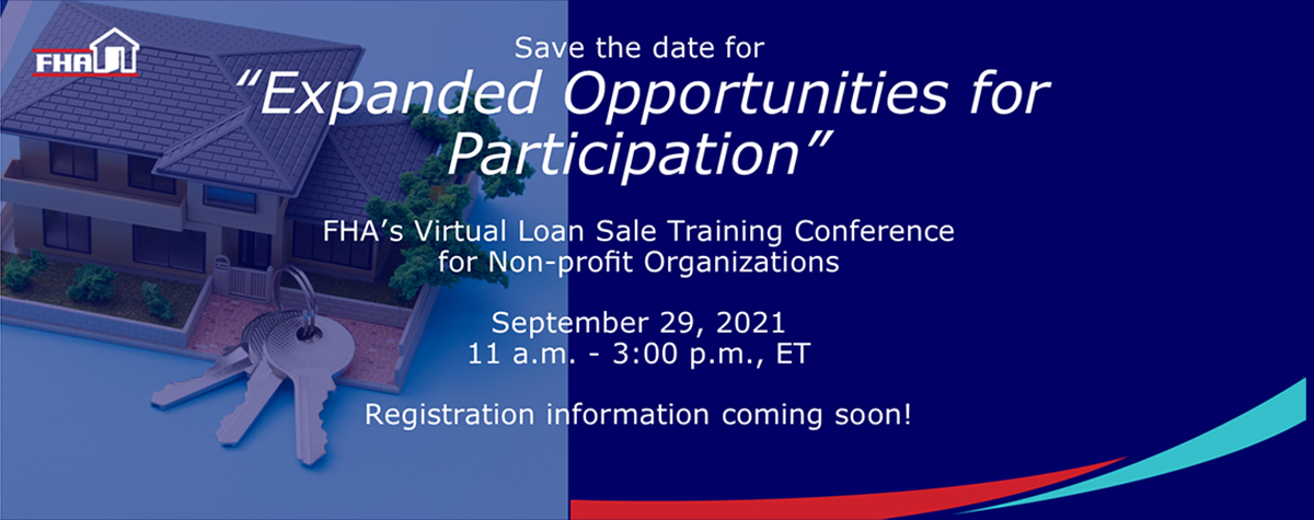 [FHA's Virtual Loan Sale Training Conference for Nonprofit Organizations]. HUD Photo