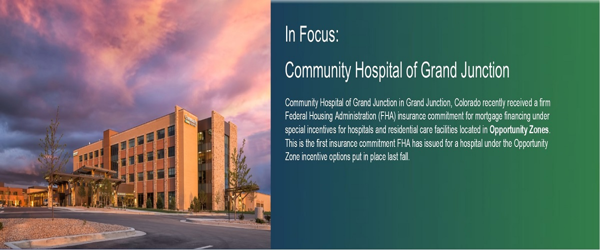 In Focus: Community Hospital of Grand Junction. HUD Photo