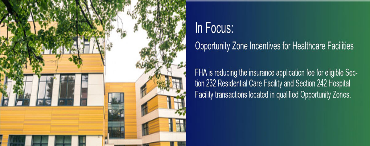 In Focus: Opportunity Zone Incentives for Healthcare Facilities. HUD Photo