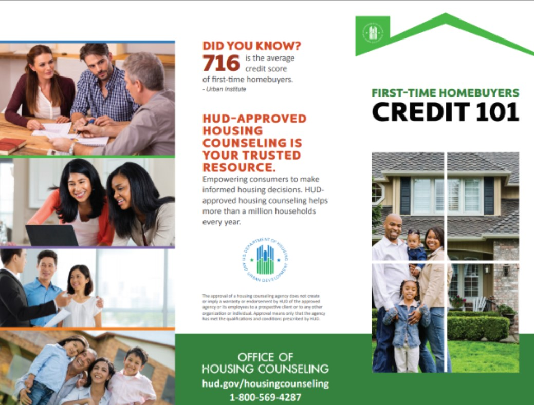 First Time Home Buyers Credit 101 Brochure