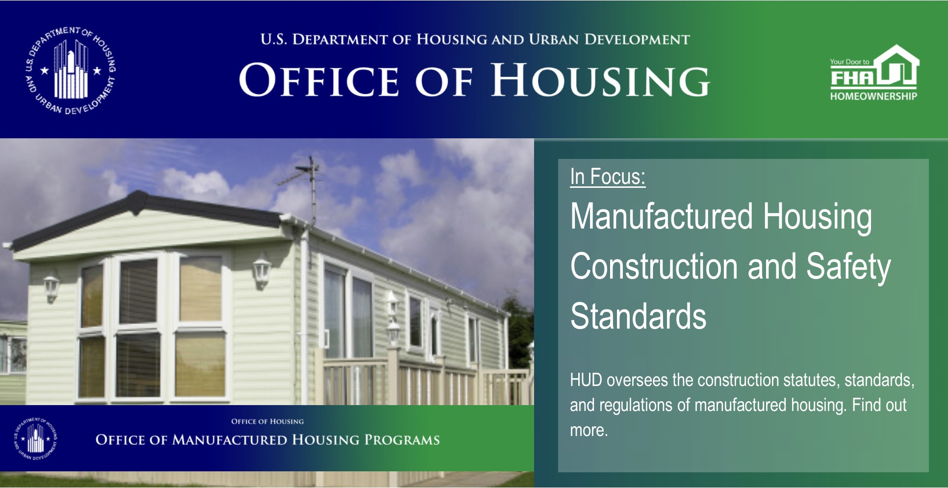 [Manufactured Housing Construction and Safety Standards}