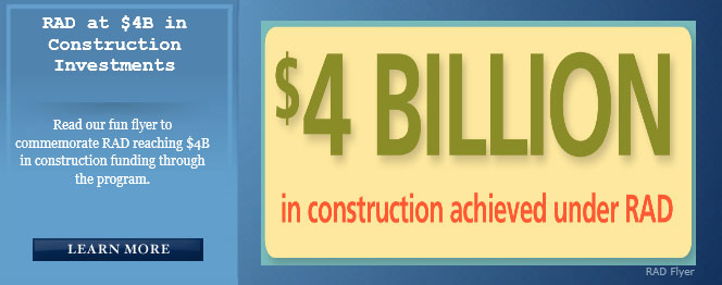 RAD at $4B in Construction Investments