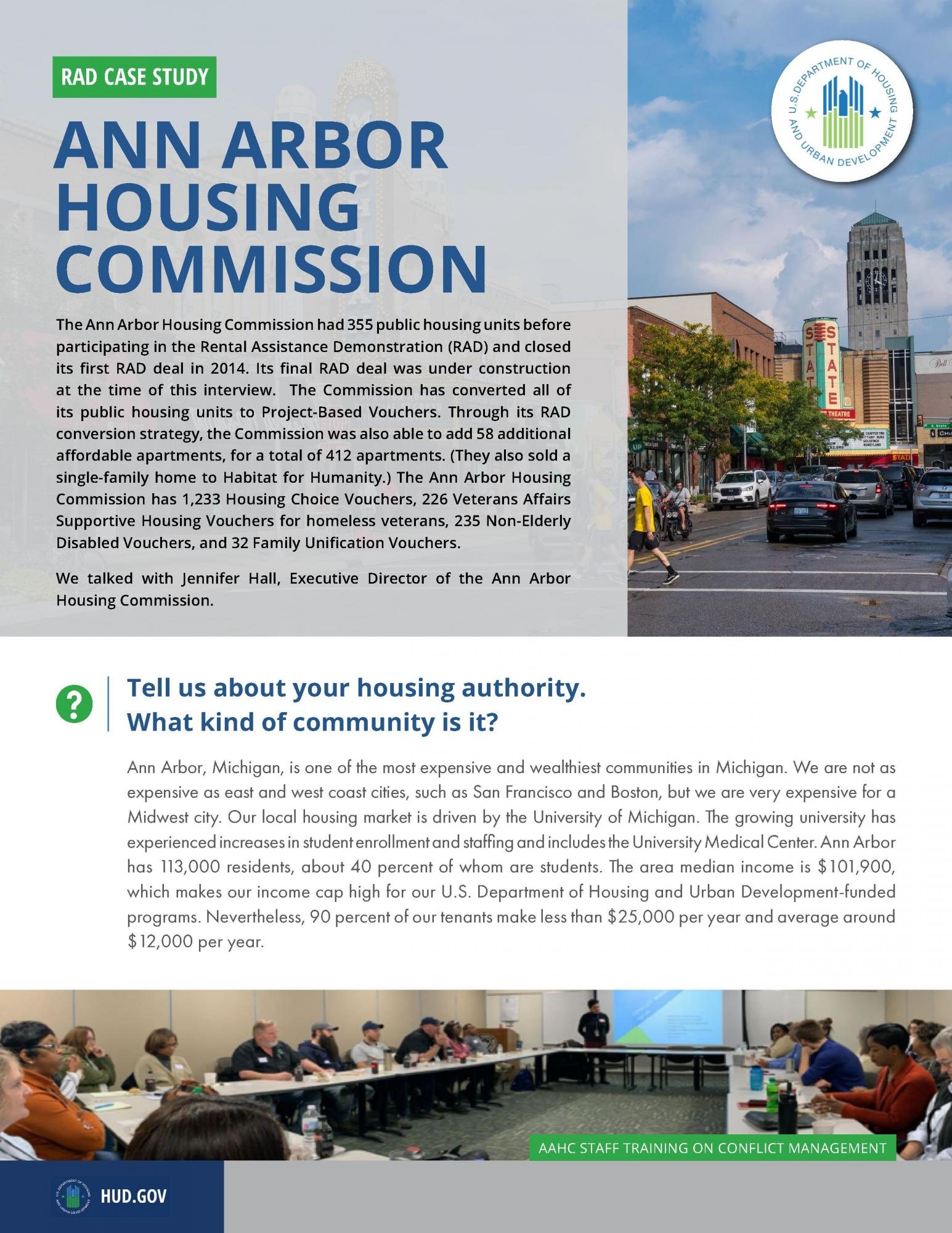 Ann Arbor Housing Commission Executive Director Q&A
