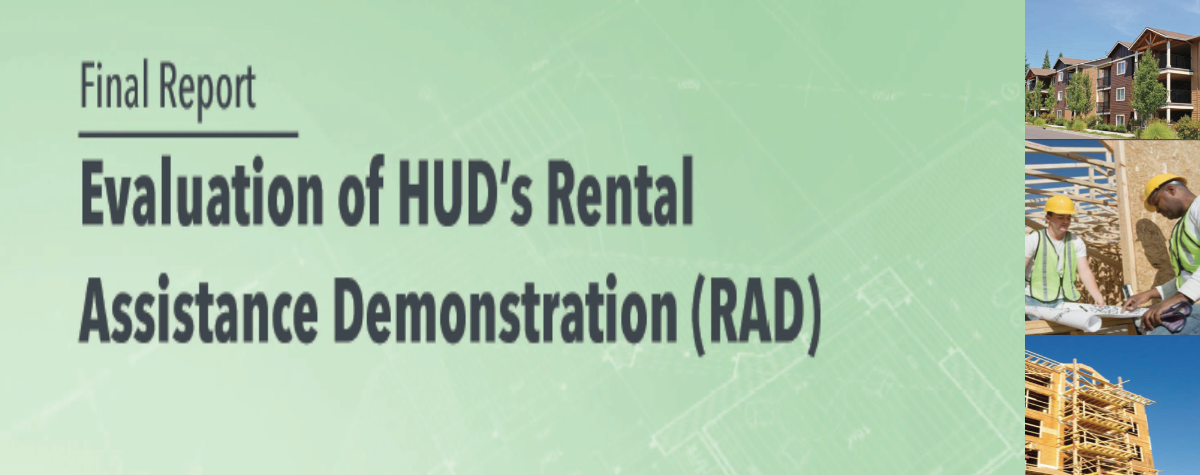 [HUD Releases Evaluation of Rental Assistance Demonstration]. HUD Photo