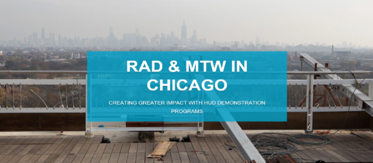 [RAD in Chicago, Illinois]. HUD Photo