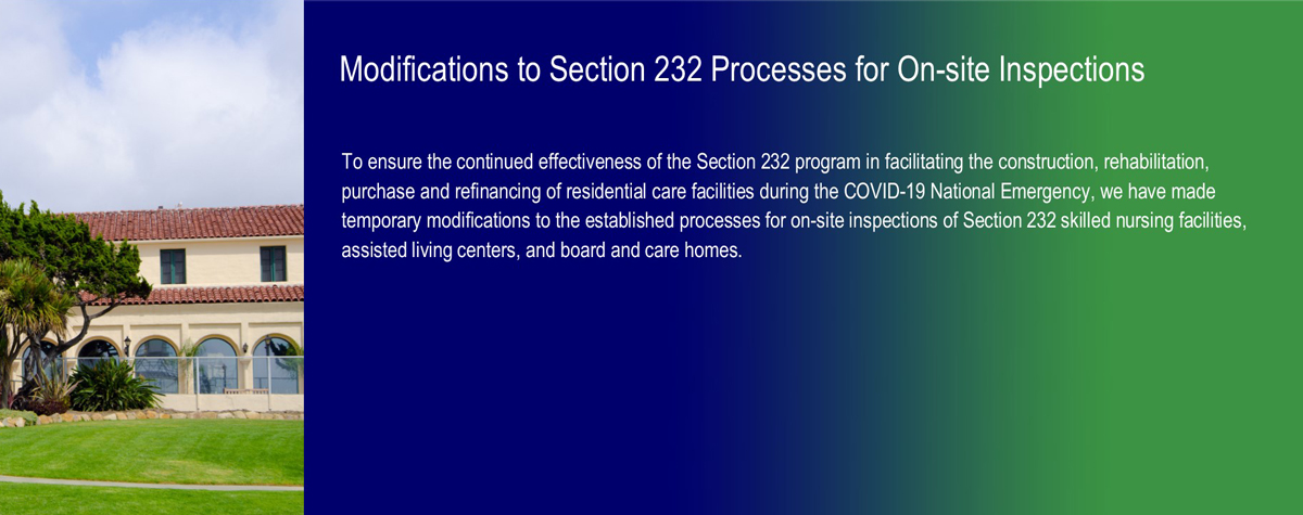 [In Focus: Modifications to Section 232 Processes for On-site Inspections]. HUD Photo