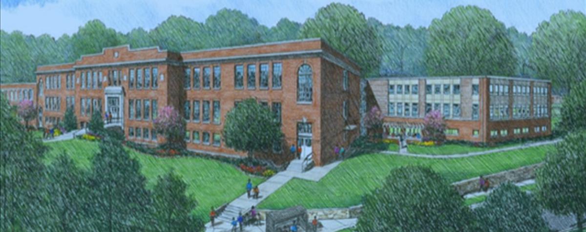 [Veranda at Whitted School].