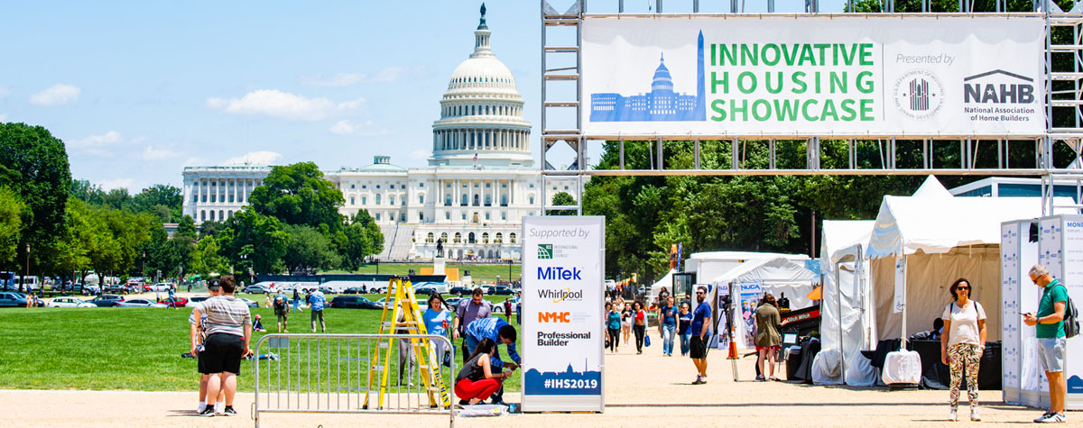 [HUD and NAHB host first-ever Innovative Housing Showcase on the National Mall].