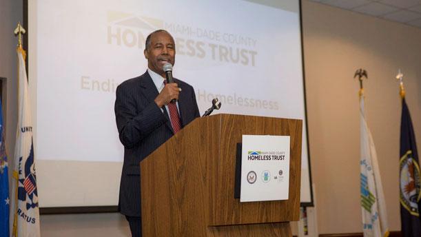 [Secretary Carson Announces an End to Veteran Homelessness in Miami-Dade County, Florida].