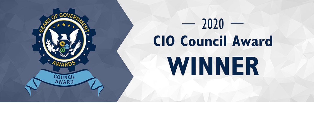 [HUD's CIO Council is recognized for modernizing five of HUD's most critical business systems by migrating them to a cloud-based application suite.].