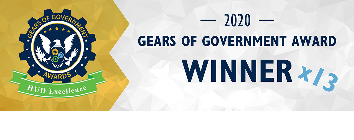 [Gears of Government Awards recognize individuals and teams across the Federal workforce whose dedication supports exceptional delivery of key outcomes for the American people, specifically around mission results, customer service, and accountable stewardship.].