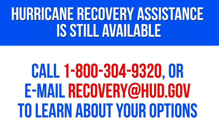 [Help is Available for Hurricane Victims]. HUD Photo