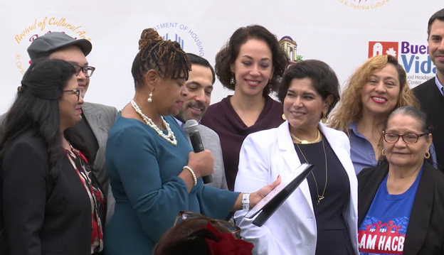 [HUD Officials join Brownsville mayor in designation of EnVision Center.]