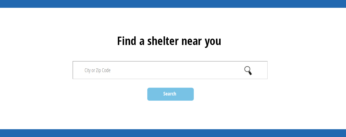 [Search www.hud.gov/findshelter to find housing and support resources for those experiencing or at risk of homelessness]. HUD Photo