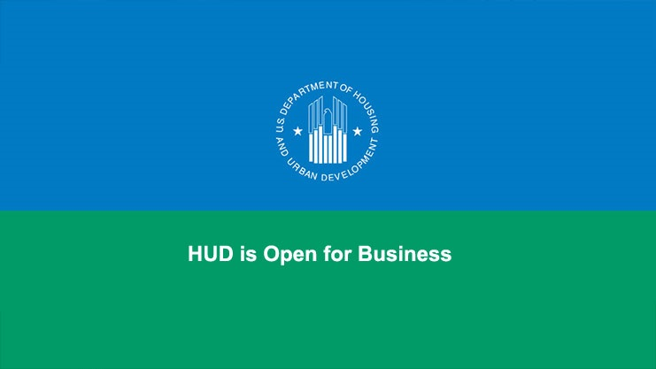 [HUD is Open for Business. Normal operations have resumed]. HUD Photo