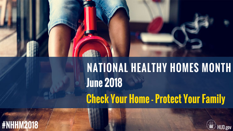 [National Healthy Homes Month]. HUD Photo