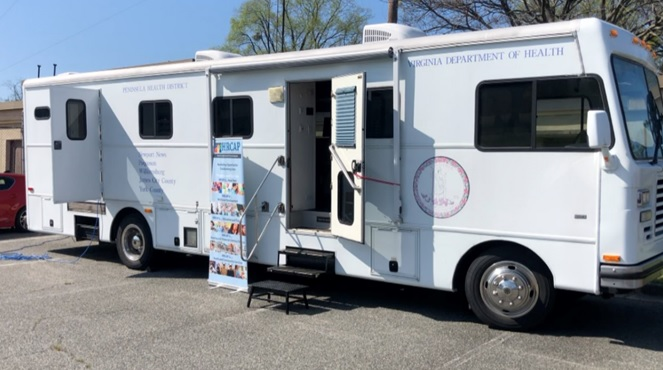 Hampton Roads Community Action Program offering mobile showers for the homeless, free Wi-Fi services