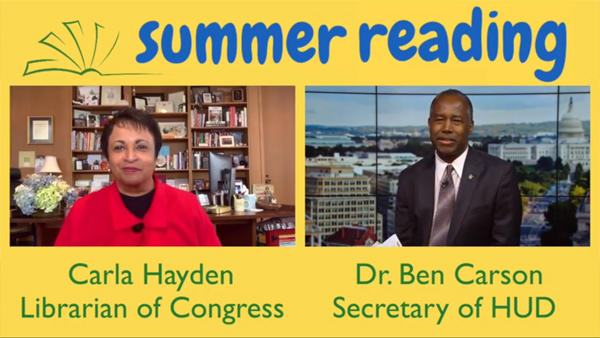 Summer Reading with Secretary Carson, Episode 2