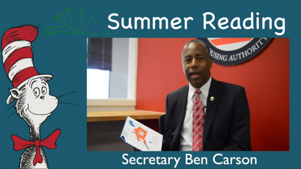 Summer Reading with Secretary Carson, Episode 3