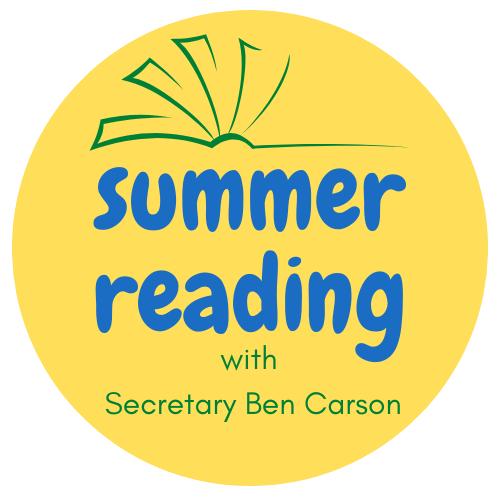 Summer Reading with Secretary Carson Logo