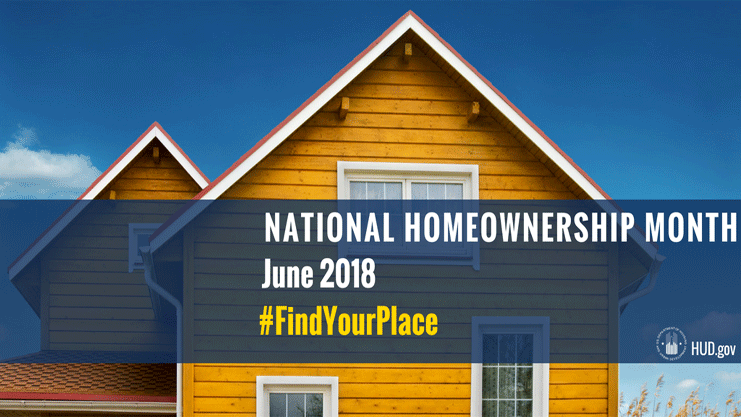 National Homeownership Month.