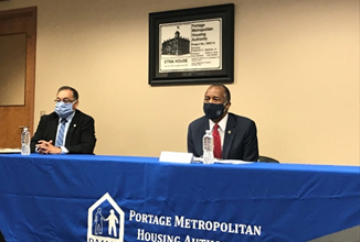 [Secretary Ben Carson meets with Foster Youth to Independence voucher recipients in Ohio before hosting a roundtable about the program with local leadership]