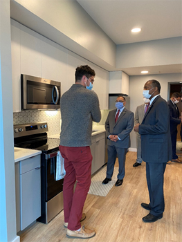 [Secretary Ben Carson tours an Opportunity Zone project in Cleveland, Ohio]