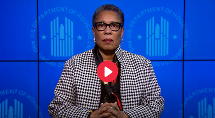 [HUD Secretary Marcia L. Fudge's video statement on 2020 AHAR: Part 1]