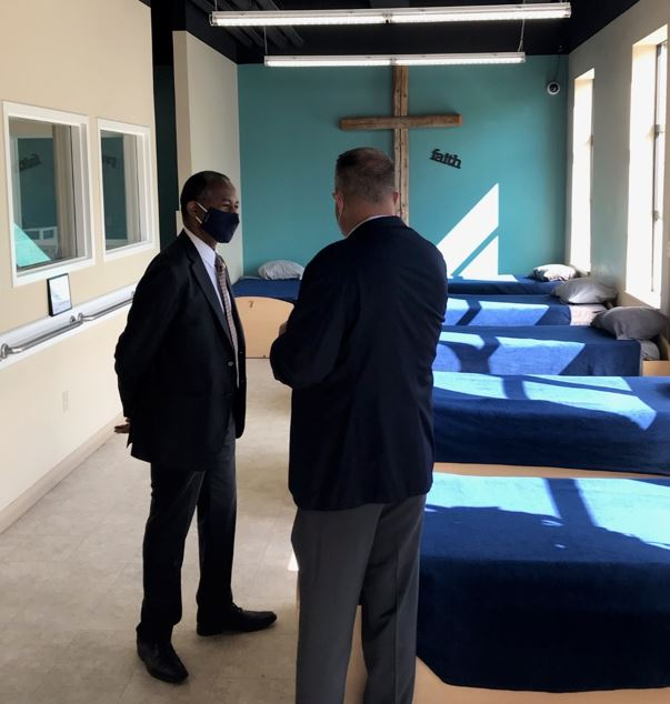 Secretary Ben Carson visits faith-based homelessness service providers in Michigan. View additional pictures via Secretary Carson's Twitter page
