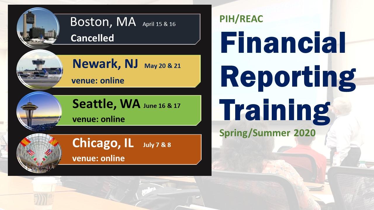 FASS PH Financial Reporting Training. HUD Photo