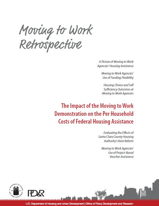Cover page of the Impact of the Moving to Work Demonstration on the Per Household Costs of Federal Housing Assistance