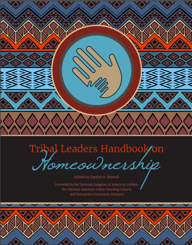 Tribal Leaders Handbook on Homeownership Cover