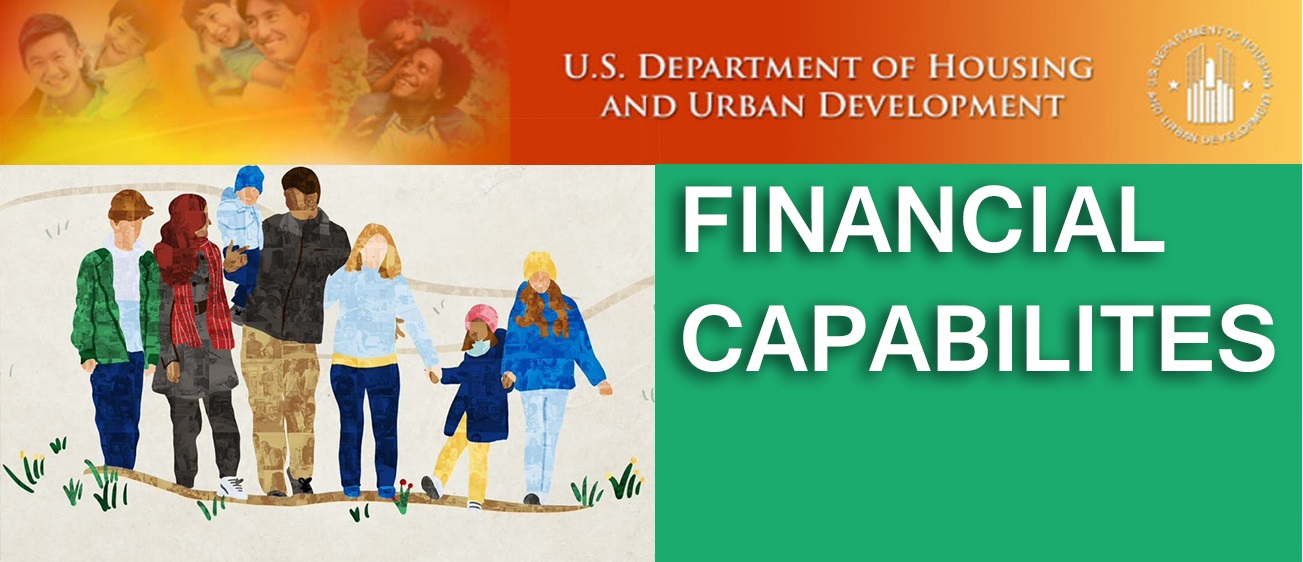 APRIL IS FINANCIAL CAPABILITY MONTH.