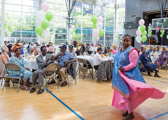 Mother's Day Celebration at Sotomayor Community Center. HUD Photo