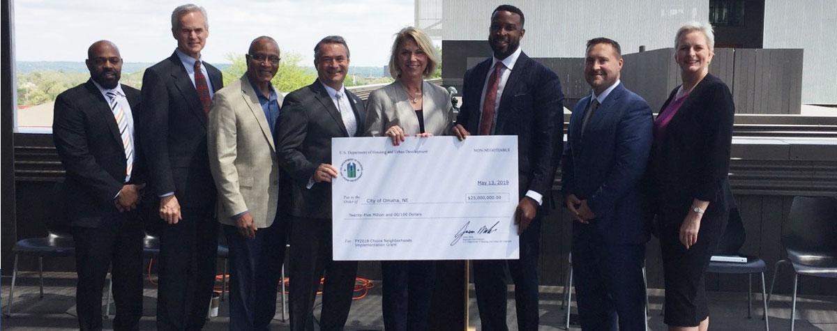 [Omaha Awarded Choice Neighborhoods Implementation Grant].