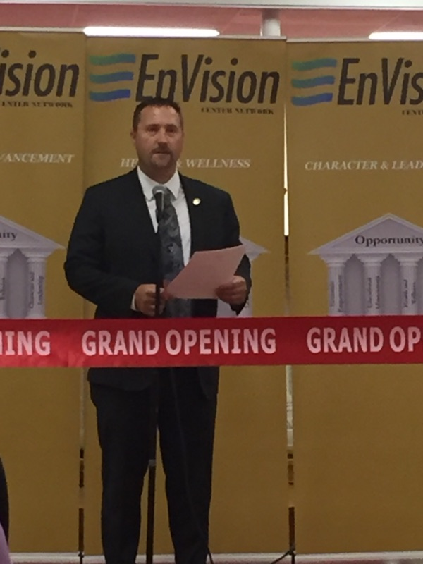 [Kansas City, KS celebrates EnVision Center Grand Opening on June 3, 2019.]