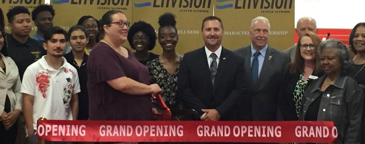 [Kansas City, KS celebrates EnVision Center Grand Opening on June 3, 2019].