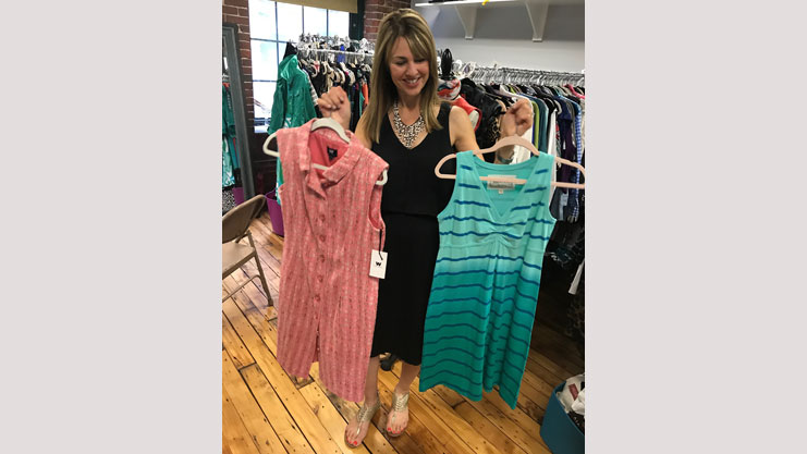 [Susan Kanoff, Founder and Executive Director of Uncommon Threads]. HUD Photo