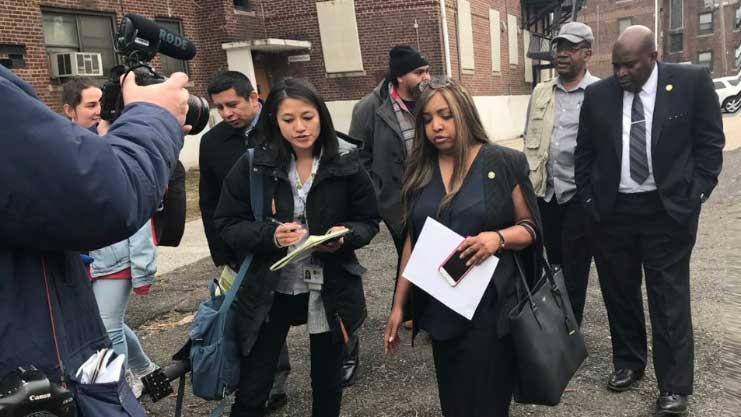 [HUD Regional Administrator Lynne Patton tours Newark's Terrell Homes]. HUD Photo
