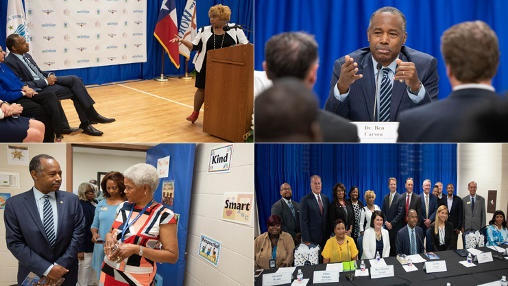 [HUD Secretary Ben Carson Launches Fort Worth EnVision Center].