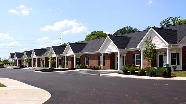[ Ft. Webb Manor II affordable senior housing is showcased at ribbon cutting ceremony.]