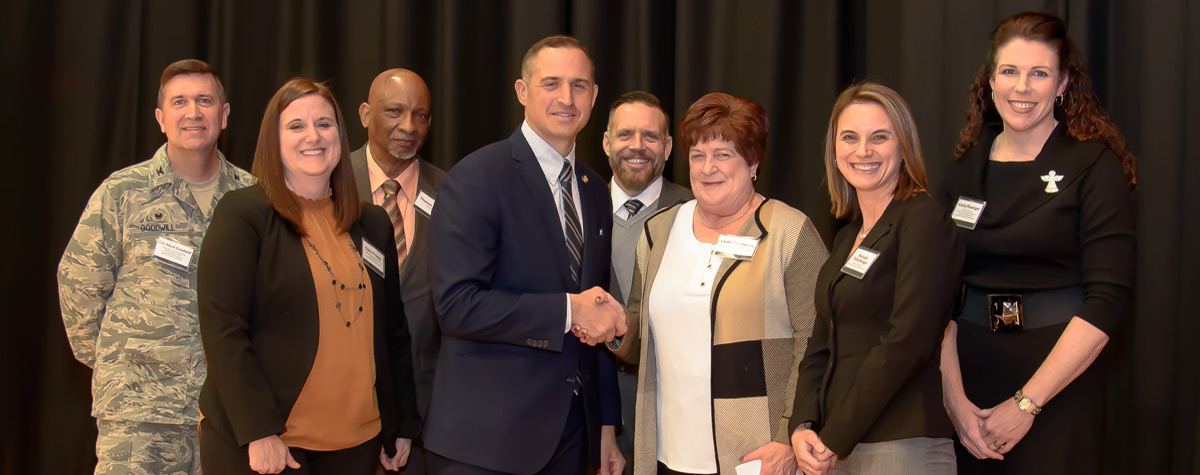 [Federal, state and local partners celebrate the end of veteran homelessness in western Pennsylvania].  HUD Photo