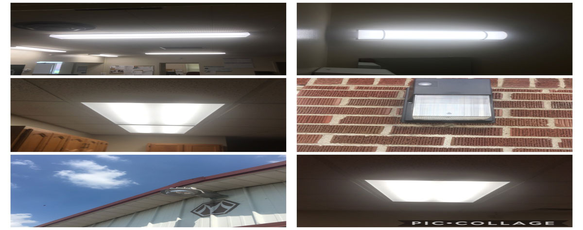 [LED lighting installed (or to be installed) at the Henderson Housing Authority EnVision Center saving tens of thousands of dollars and electrical wattage]. HUD Photo